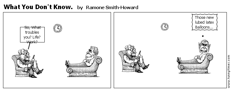 What You Don't Know. by Ramone Smith-Howard