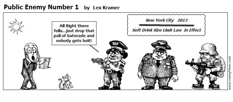 Public Enemy Number 1 by Lex Kramer
