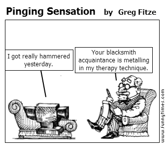 Pinging Sensation by Greg Fitze