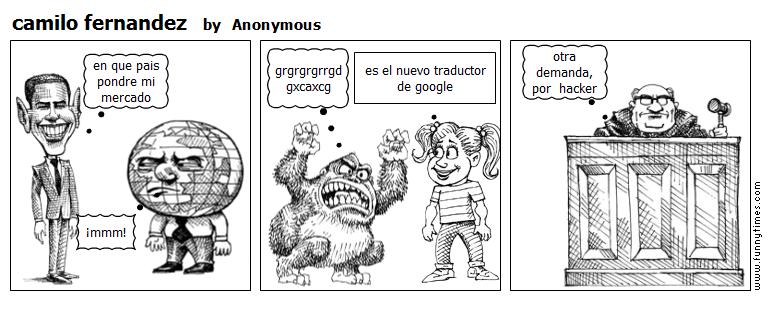 camilo fernandez by Anonymous