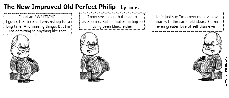 The New Improved Old Perfect Philip by m.e.