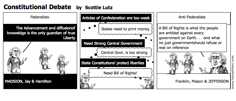 Constitutional Debate by Scottie Lutz