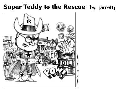 Super Teddy to the Rescue by jarrettj