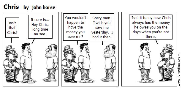 Chris by john horse