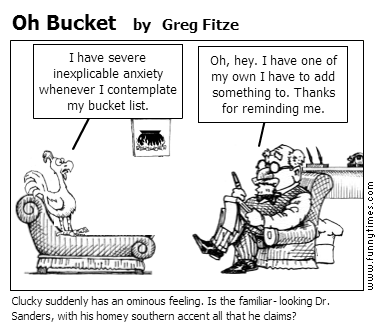 Oh Bucket by Greg Fitze