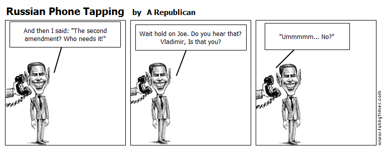 Russian Phone Tapping by A Republican