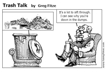 Trash Talk by Greg Fitze