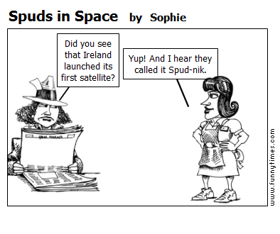 Spuds in Space by Sophie
