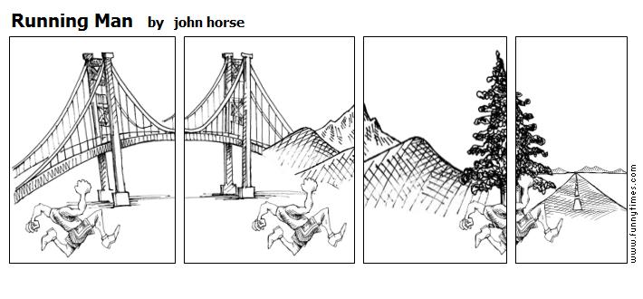 Running Man by john horse