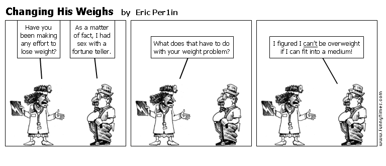 Changing His Weighs by Eric Per1in