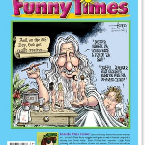 June 2013 issue of Funny Times