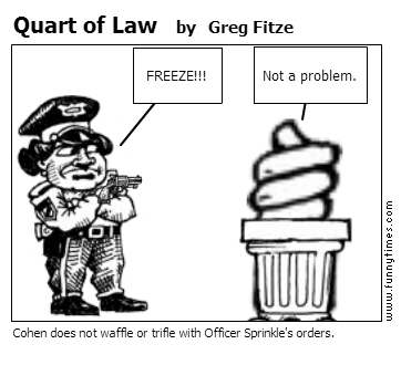 Quart of Law by Greg Fitze