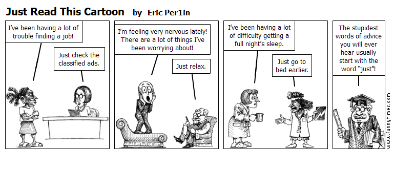 Just Read This Cartoon by Eric Per1in