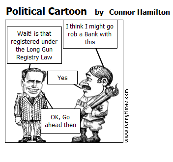Political Cartoon by Connor Hamilton