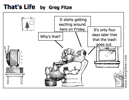 That's Life by Greg Fitze