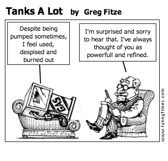 Tanks A Lot by Greg Fitze