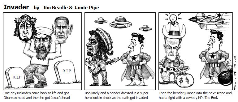 Invader by Jim Beadle  Jamie Pipe