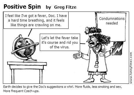 Positive Spin by Greg Fitze