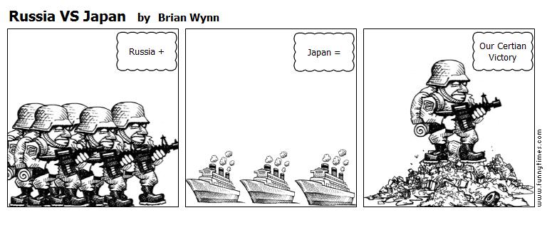 Russia VS Japan by Brian Wynn