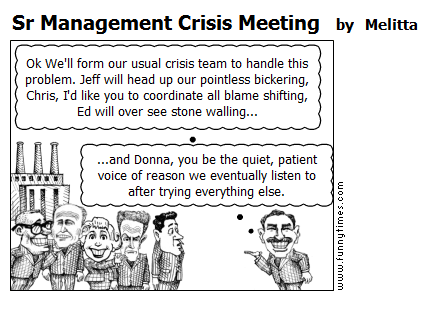 Sr Management Crisis Meeting by Melitta