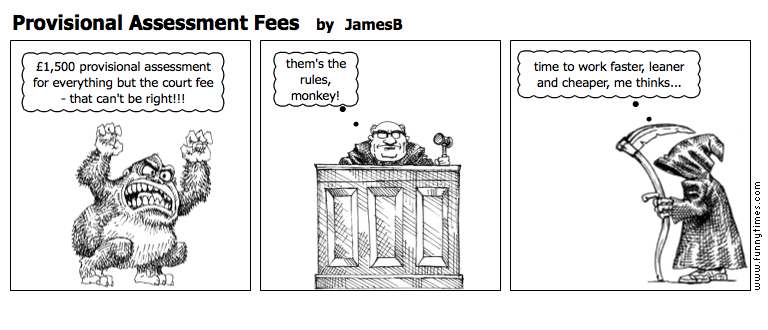 Provisional Assessment Fees by JamesB