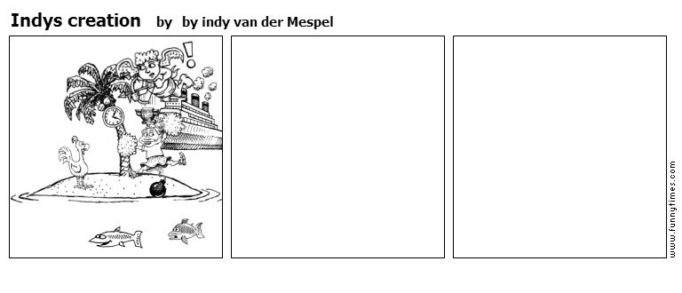 Indys creation by by indy van der Mespel