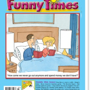 July 2013 issue of Funny Times