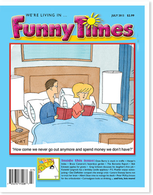 Funny Times July 2013 issue cover