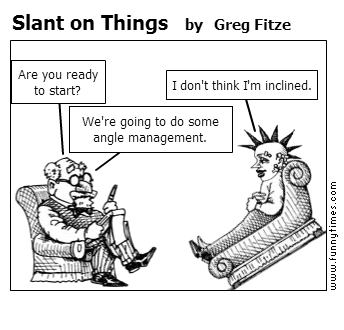 Slant on Things by Greg Fitze