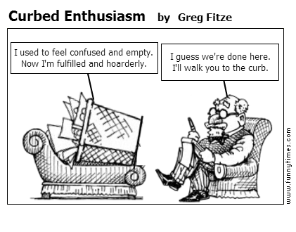 Curbed Enthusiasm by Greg Fitze
