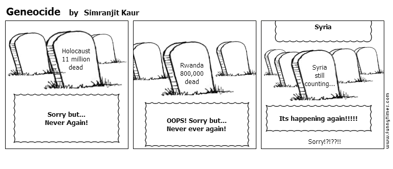 Geneocide by Simranjit Kaur