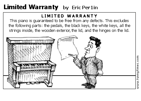 Limited Warranty by Eric Per1in