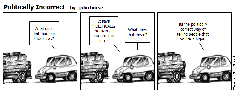 Politically Incorrect by john horse