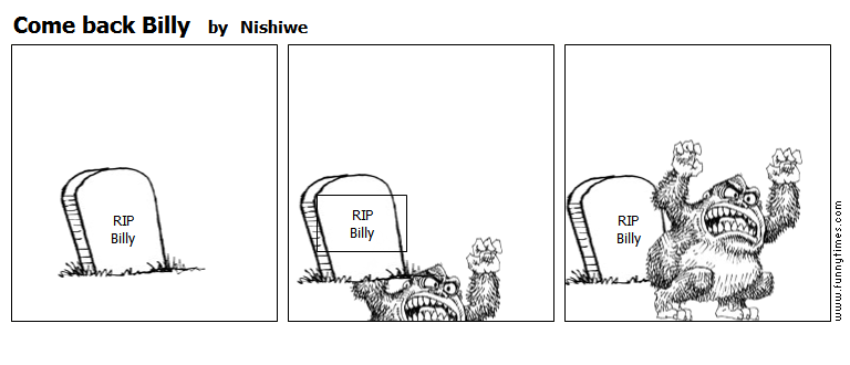 Come back Billy by Nishiwe