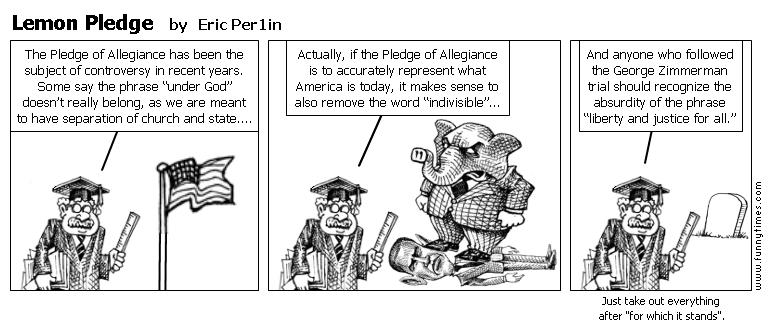 Lemon Pledge by Eric Per1in
