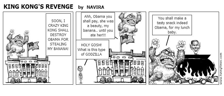 KING KONG'S REVENGE by NAVIRA