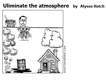 Uliminate the atmosphere by Alyssa Hatch