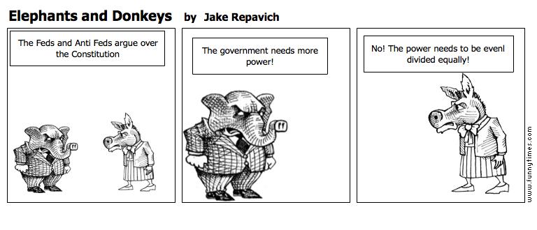 Elephants and Donkeys by Jake Repavich