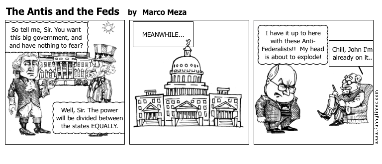 The Antis and the Feds by Marco Meza