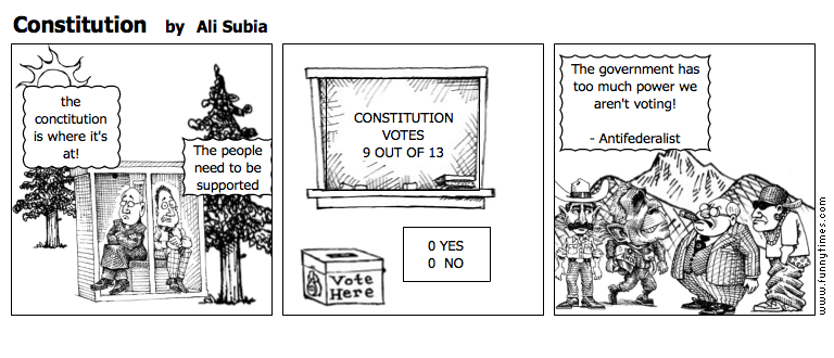 Constitution by Ali Subia