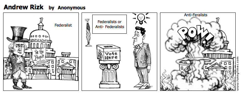 feralists vs anti federslists Free example of an essay on federalists and anti-federalists get help with writing an essay on political topic federalists and anti-federalists essay sample.