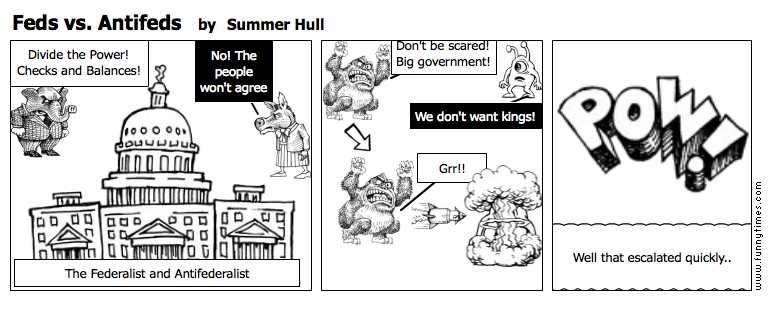 Feds vs. Antifeds by Summer Hull