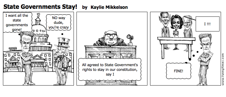State Governments Stay by Kaylie Mikkelson