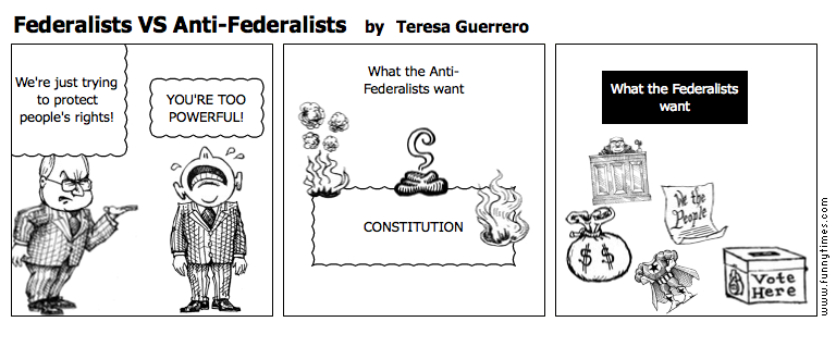 federalists vs anti federalists the funny times