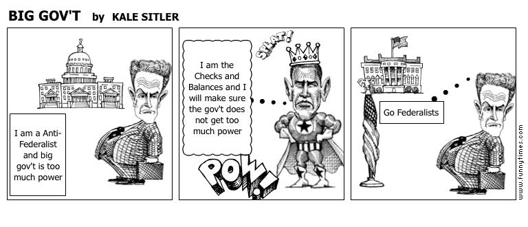 BIG GOV'T by KALE SITLER