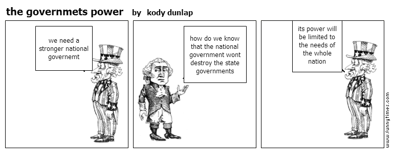 the governmets power by kody dunlap