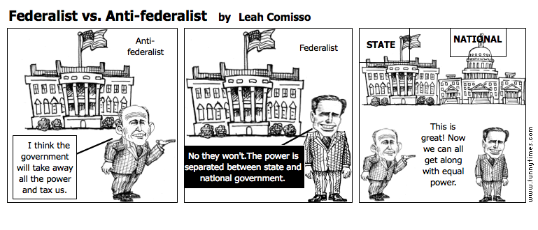 Federalist vs. Anti-federalist by Leah Comisso