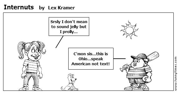 Internuts by Lex Kramer