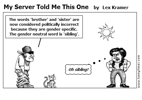 My Server Told Me This One by Lex Kramer