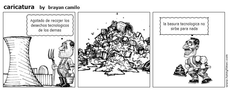 caricatura by brayan camilo